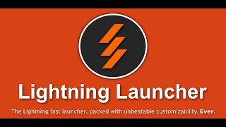 Lightning Launcher Trial YouTube video