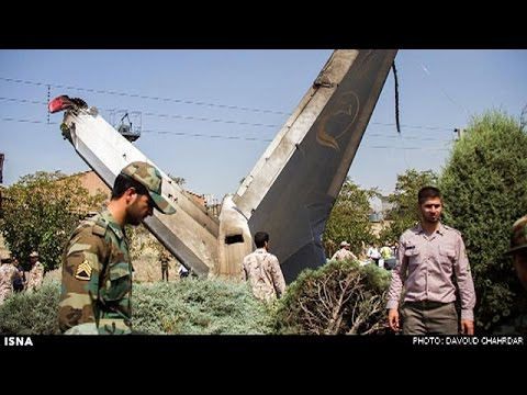 تحطم طائرة إيرانية يخلف 38 قتيلا فيما نجا تسعة ركاب