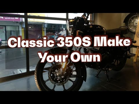 Classic 350s Make your own #Classic 350s review #Royal Enfield #Classic 350 S review #Make your own