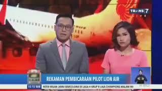 Video Penyebab Pesawat Lion Air GT160 JATUH   Isi Percakapan Kotak Black Box MP3, 3GP, MP4, WEBM, AVI, FLV April 2019