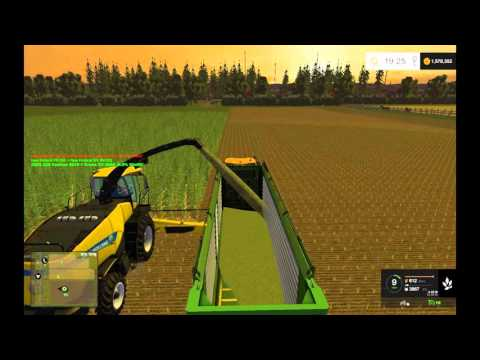 Krone TX 460 and TX 560 D v2.0 (fixed Errors and Textures)