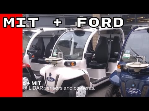 Ford and MIT MOD on demand electric vehicle