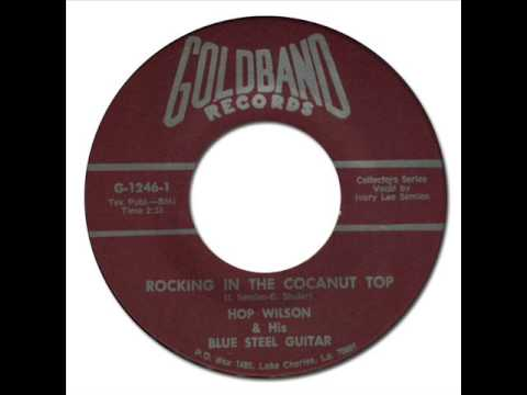 HOP WILSON - Rocking in the Cocanut Top [Goldband 1246] 197?