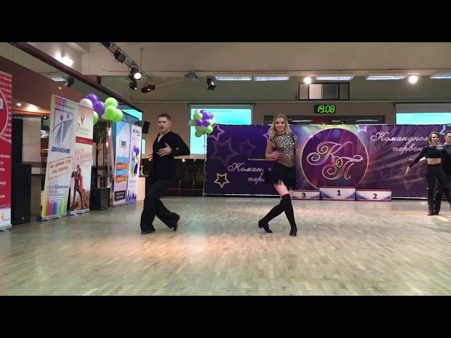 Командное Первенство 2017, B-класс, Андрей Чайка — Надежда Бычкова, fast
