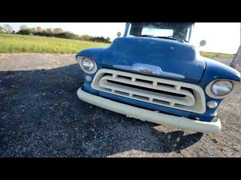 The Taylor'd '57: classic Chevy on air ride