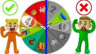 Video SUPERHERO BABY MYSTERY WHEEL OF FORTUNE 💖 Play Doh Cartoons Stop Motion MP3, 3GP, MP4, WEBM, AVI, FLV April 2019