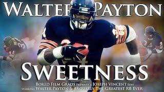 Walter Payton - Sweetness by Joseph Vincent