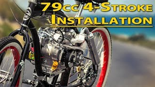 Video How To: Installation Guide - 79cc 4-Stroke Bicycle Engine Kit MP3, 3GP, MP4, WEBM, AVI, FLV September 2018