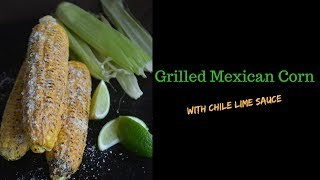 Grilled Mexican Corn with Chile Lime Sauce! https://youtu.be/TGkt9HRSvm0 Thank y'all for stopping by! We're rolling out a fiesta ...