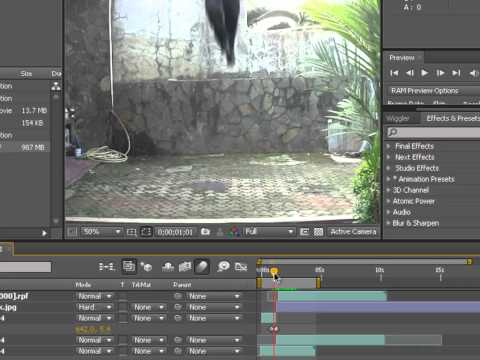 After Effects Tutorials - How to do HANCCK Landing in After Effects & 3DS Max (PART 3)
