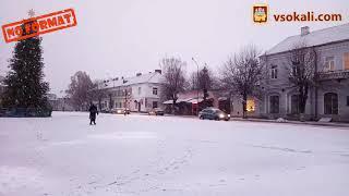 24 грудня в Сокалі знов сніжно…