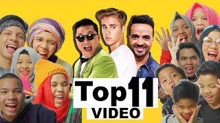 Video React dan Tebak 11 VIDEO Musik Dengan Penonton Terbanyak | Gen Halilintar MP3, 3GP, MP4, WEBM, AVI, FLV Maret 2019
