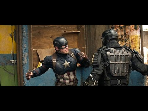 Captain America - Fight Moves Compilation(cw Included) Hd