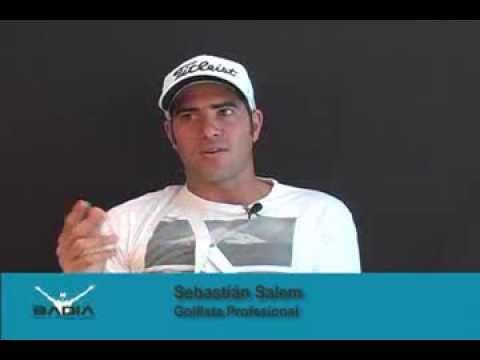 Dr. Badia Opera a Sebastian Salem Golfista Profesional con problema de tendón en la muñeca
