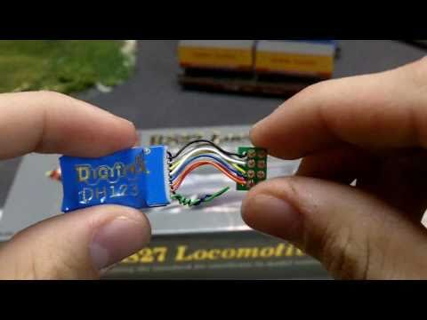 How to install DCC and LEDs into a Proto 2000 Locomotive (part 1)