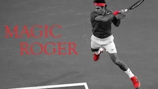 Roger Federer is a magician on the court and proves it to each of his matches!Subscribe, Like, Comment !