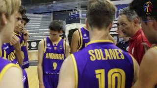 És fàcil crear una selecció U16 de bàsquet a Andorra? Els jugadors, ¿estan al país? Vacances familiars i selecció. Competicions...