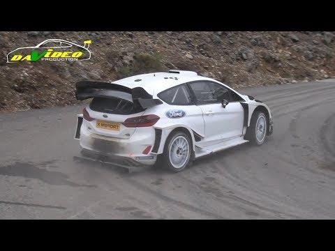 Rallye Monte-Carlo 2018 (test S.Ogier Ford Fiesta WRC)