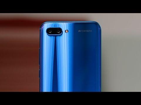 Обзор Honor 10 — лучше Huawei P20? (видео)