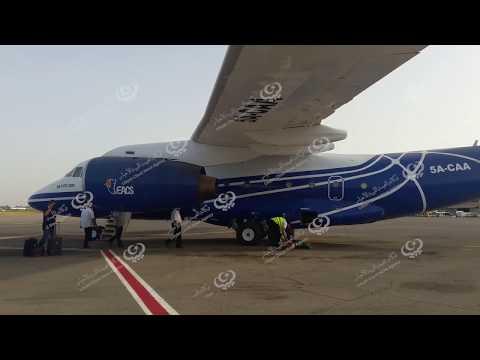 استلام طائرة رئاسية ليبية كانت تحت الصيانة