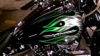 8. Motorcycle Detailing 2009 Harley Davidson CVO Springer FXSST