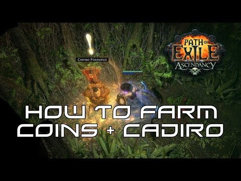 How To Farm Perandus Coins & Cadiro Summons! Path of Exile 2.2