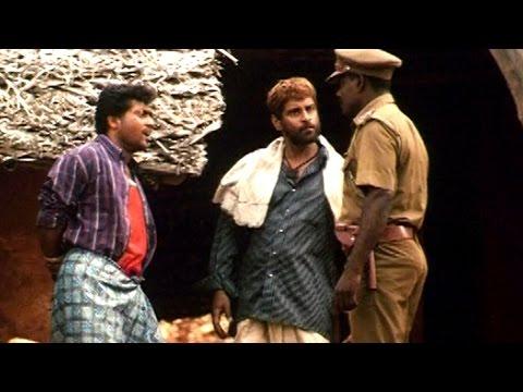 Siva Putrudu Movie    Police Arrest Vikram Scene    Vikram, Surya, Laila