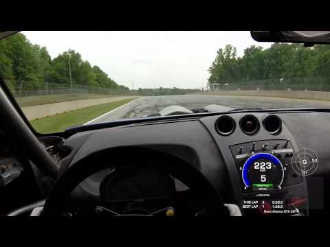 Onboard Road Atlanta with Sasha Anis @ Global Time Attack 2014