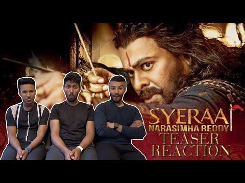 SYE RAA NARASIMHA REDDY Teaser Reaction | Megastar Chiranjeevi | #SyeRaaTeaser