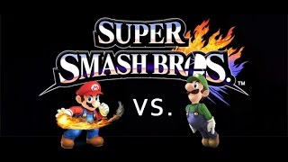 Mario (Me) vs Luigi – For Glory – 1v1 – Online – Comeback