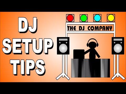 How To DJ – Mobile DJ Equipment Set-up For Beginners