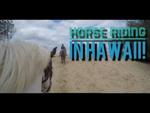 Hawaii Beach Horseback Ride