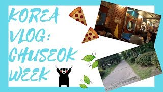 Vlog: Chuseok, Laundry Pizza, and a little surprise