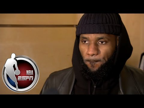 LeBron James explains why he switches shoes during games | ESPN