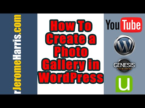 Video How To Create A Photo Gallery In WordPress download in MP3, 3GP, MP4, WEBM, AVI, FLV January 2017