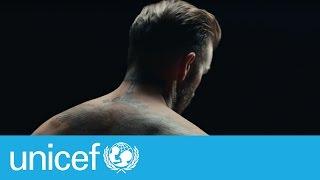 Protagoniza David Beckham film para erradicar violencia contra los niños