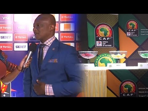 AFCON 2019 DRAW HIGHLIGHTS & STARS COACH KWESI APPIAH REACTS TO DRAW IN EGYPT