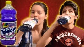 Bebiendo limpiador de pisos con cloro!  | LOS POLINESIOS BROMAS PLATICA POLINESIA