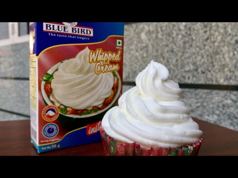 Blue Bird Whipped Cream Tutorial | Kitchen Time With Neha