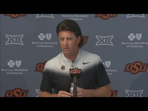Oklahoma State Cowboy Football Weekly Press Conference