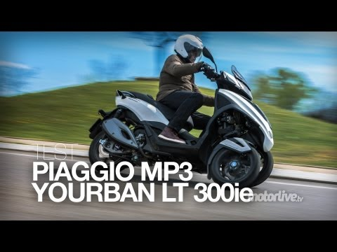 new piaggio mp3 yourban 300 lt - presentation's video