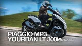 6. TEST | PIAGGIO MP3 YOURBAN 300 LT Sport
