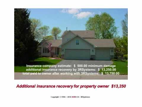 HAIL AND WIND STORM DAMAGE Homeowners Insurance Recovery Guide