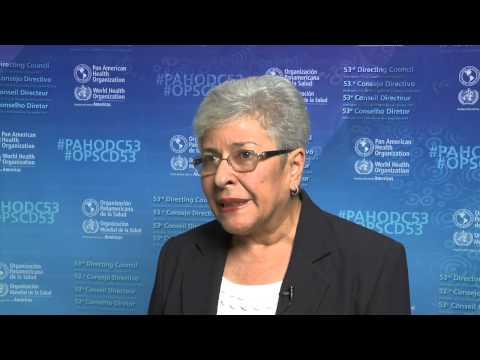 Dra. María Elena López Nuñez, Ministra de Salud de Costa Rica