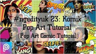 #ngedityuk 23:  Pop Art Comic.Tutorial cara edit foto kamu menjadi ala pop art comic dengan menggunakan aplikasi PicsArt yang gratis di handphone kamu. Buat yang belum tau apa itu popart comic, kalian bisa searching di google untuk gambaranya ya, yang jelas hasil edit dari pop art comic ini sangat keren dan cocok untuk menghias feeds di instagram kalian. Selamat mencoba!Bahan-bahan pop art comic bisa didapatkan di:http://www.ngedityuk.comInstagram: http://www.instagram.com/ngedityukFacebook: https://www.facebook.com/ngedityuk📷: awkarin, rachelvennya, anyageraldine
