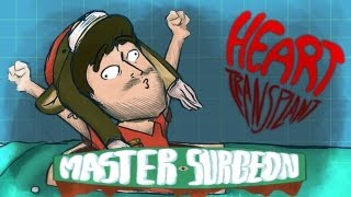 Master Surgeon - Heart Transplany - by Scribble Netty