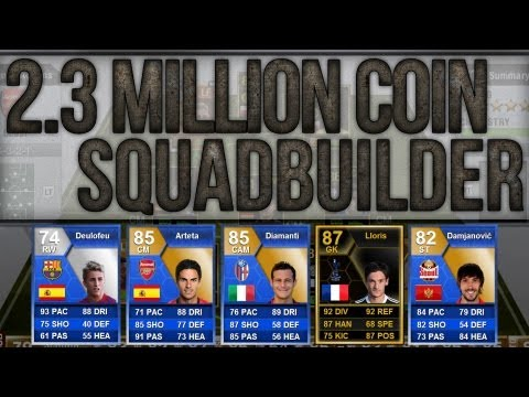 FIFA 13 | TOTS TESTING SQUADBUILDER FT. TOTS DEULOFEU, TOTY DIAMANTI AND MORE!