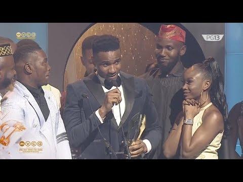 Swanky JKA wins the Trailblazer Award – AMVCA 7   Africa Magic