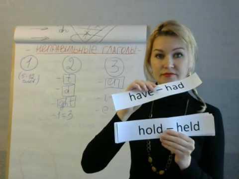 Как быстро выучить неправильные глаголы английского языка