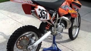 6. 2004 KTM 200 EXC